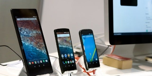 Smartphones werden getestet