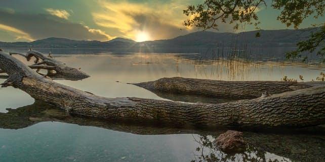 Der Laacher See ist wohl einer der schönsten Seen in Deutschland