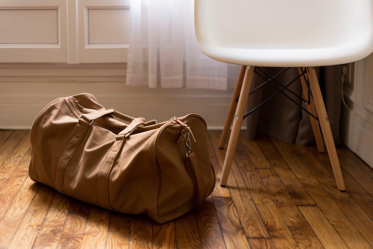Braune Reisetasche