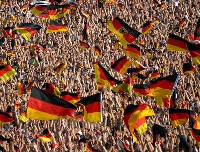 Deutschland im Fußballfieber