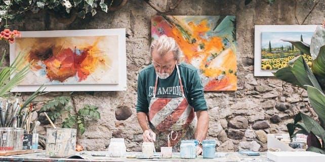Kunst mieten bei Künstlern