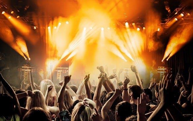 Party und Konzert