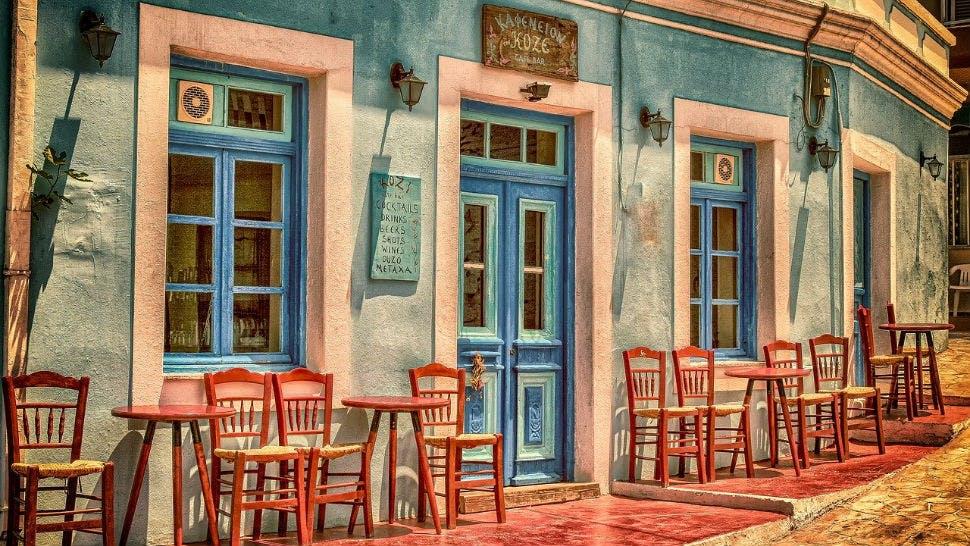 Sanfter Tourismus Restaurant