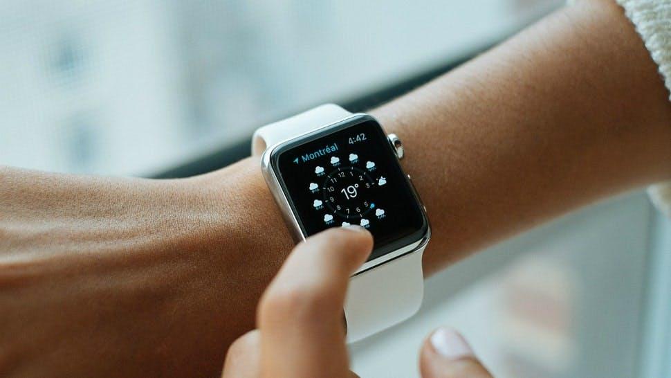 Moderne Smartwatch