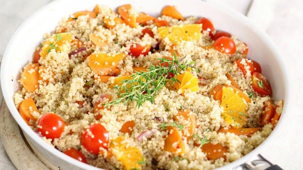Meal Prep: Quinoa Salat