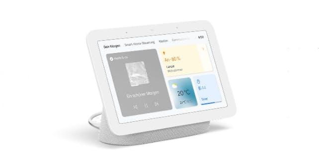 Google Nest Hub mit großem Display