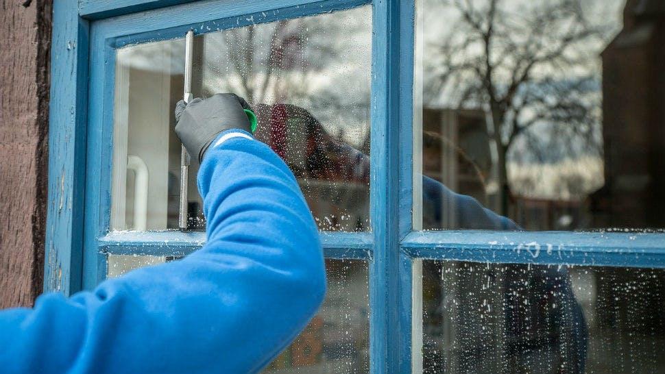 Frühjarsputz Fensterreinigung