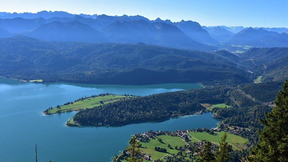 Spontaner Urlaub am Walchensee