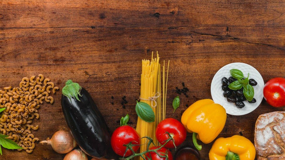 Lebensmittel für Prep Lunches