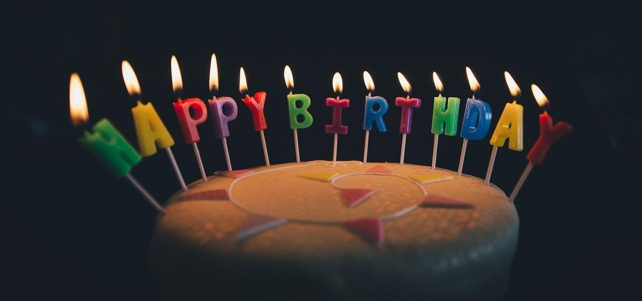 Geburtstagsüberraschung Kuchen
