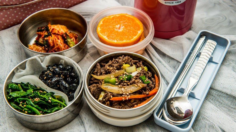 Lunchboxen für Meal Prep