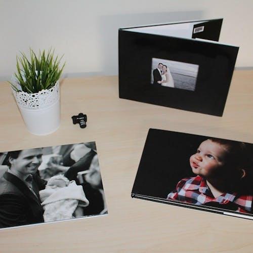 Fotoerinnerungen in Buchformat